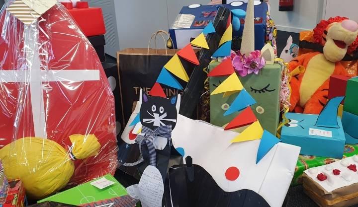 Sinterklaas surprises voor XONAR kids!