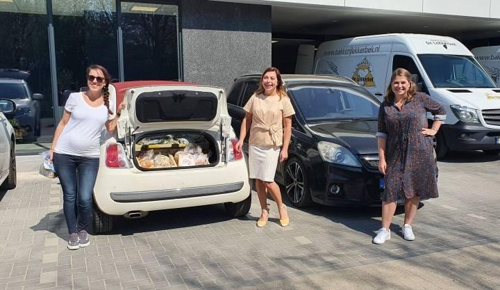 JCI Mergelland sponsort paaspakketten