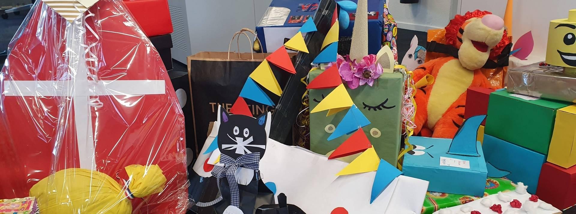 XONAR medewerkers maken surprises voor kinderen in verblijf!