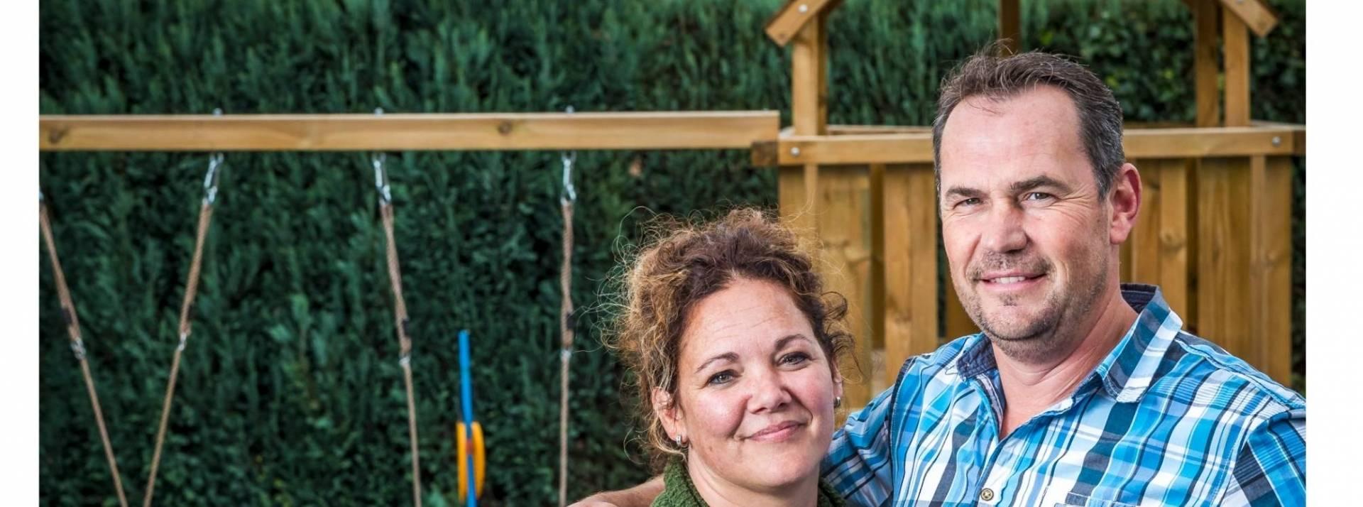 Marco en Joyce over hun gezinshuis